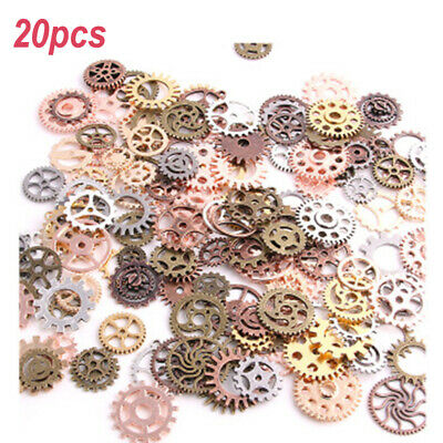 Cogs Pendants Gear Jewelry Craft Charm Watch Parts Fashion Fashionable