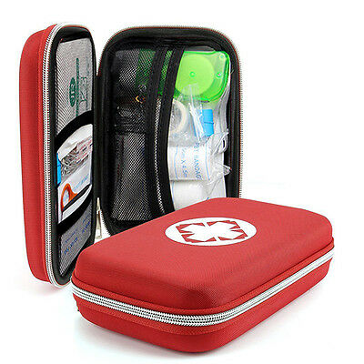 Outdoor First Aid Kit Survival Medical Bag Pouch Treatment Case Emergency FAST