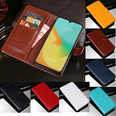 For ZTE Blade V10 Vita V9 L8 A3 2019 A530 Magnetic Leather Flip Wallet CaseCover