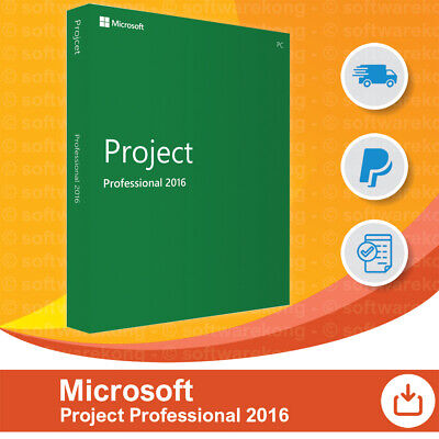 Microsoft Project 2016 Professional, Liftetime & Updates, Original