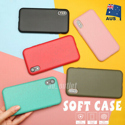 For Apple iPhone X XS MAX XR Case Shockproof Thin Soft Silicone Phone Back Cover