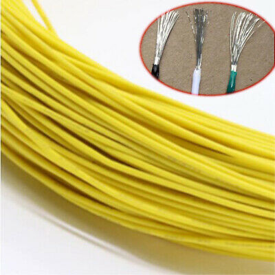 16~30AWG Yellow Electronic Wire UL1007 Flexible Stranded Cable Cord Tin Copper