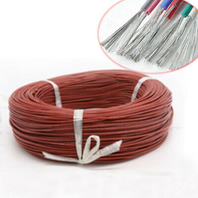 16/18/20~30AWG Brown Silicone Cable UL3239 Flexible Electronic Wire Tin Copper