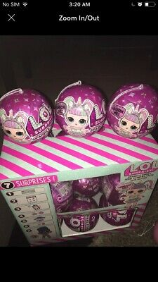 3 LOL Surprise Sparkle Series 6 Ball Doll Big Sister Brothers NEW IN HAND
