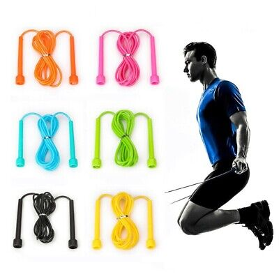 Skipping Rope Adjustable Nylon Jump MMA Boxing Fitness Speed Rope Gym Training
