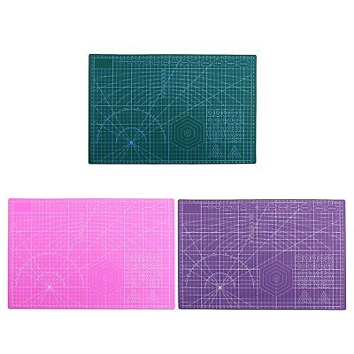 A3 Cutting Board 2 Sided Self Healing Cutting Mat Craft Quilting Printed Board