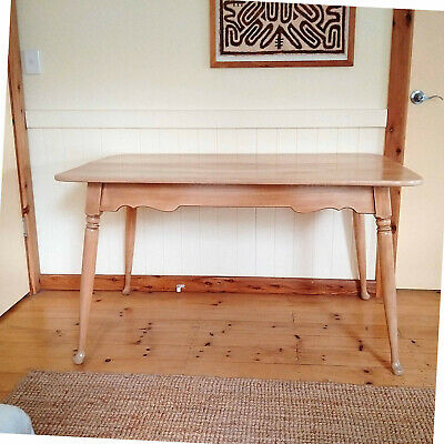 Restored Vintage Antique Farmhouse Timber Dining Table Desk 1860L x 1370W x 745H