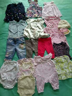 Baby Girl Clothing Age 3-6 Months, Gap,H&M, M&S,George