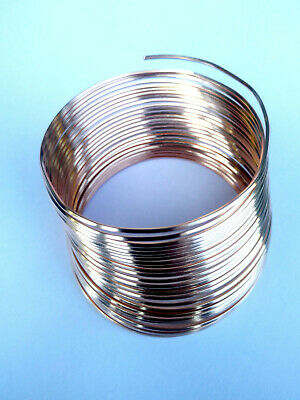 SQUARE COPPER WIRE - BARE UNCOATED SOLID 1mm SQUARE 5 meters