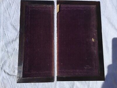 Antique Writing Slope Boards Flaps victorian restoration (AA)