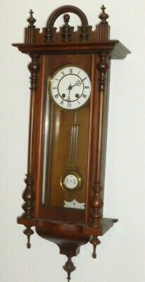 Old Lenzkirch Wall Clock Gründerzeit Era Regulator Watches 1880 Rare