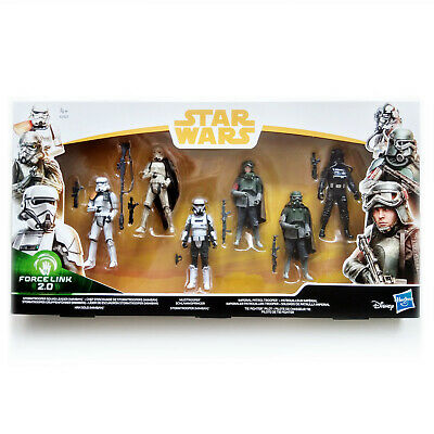 Star Wars Solo: Trooper 6 Pack Force Link 2.0 (3.75 Inches) - E2827- ¡Misb!