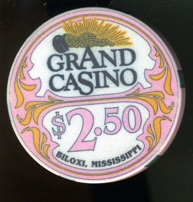 $2.50 Obsolete * Grand Hotel Casino * Biloxi, Mississippi.