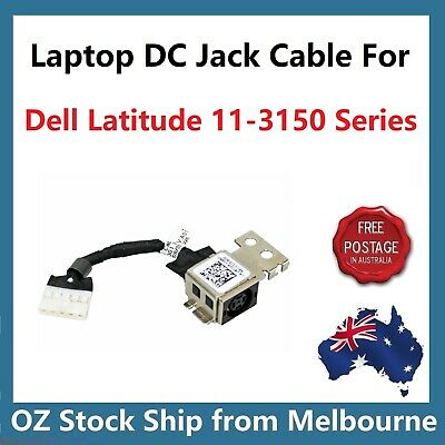 DC POWER JACK SOCKET CABLE FOR Dell Latitude 11 3150 3160 8TJD5 08TJD5 Series