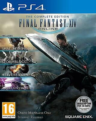 Final Fantasy XIV: The Complete Collection (PS4) BRAND NEW SEALED