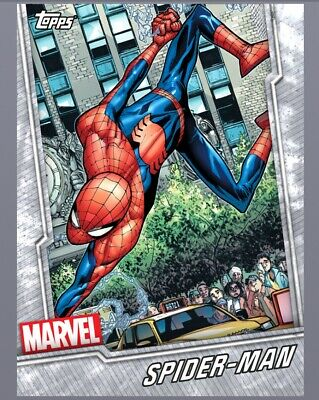 Topps MARVEL COLLECT DIGITAL Card Trader - 2019 Base Tier 1 White - Any 20 Cards