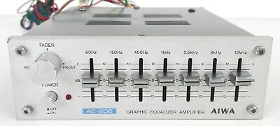 Aiwa Model Ae 202 Y - Equalizzatore Grafico - Car Audio
