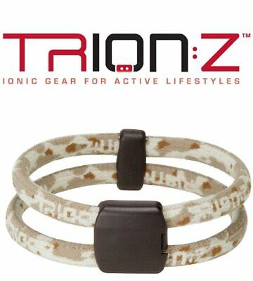 Trion:Z Polarized Dual Loop Bracelet Camo Desert Relieves Joint Pain - Small
