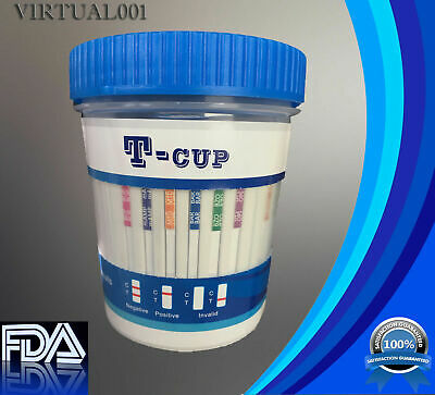 12 Panel Urine Multi-Drug Testing Cup (6125 with mAMP)
