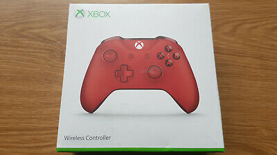 MICROSOFT Xbox One Wireless Controller Rot / Modell 1708 / Bluetooth / OVP