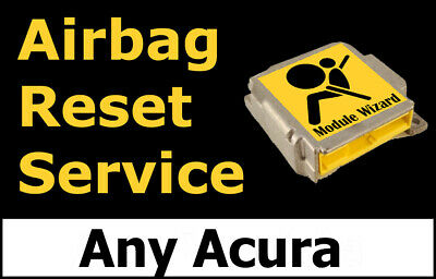 Any Acura: Airbag Module Reset Service, Control Unit, Computer, SRS, RCM,