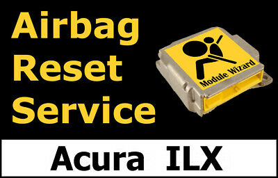 Acura ILX: Airbag Module Reset Service, Control Unit, Computer, SRS, RCM,
