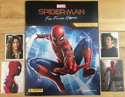 Panini Spider-Man Far From Home, Buy 2 Get 8 Free, Stickers & Cards, Spiderman