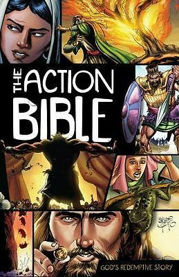 The Action Bible : God's Redemptive Story (Hardcover, 2010)