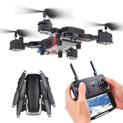 HJ28 5.0MP 1080P Camera Wifi FPV Foldable 6-Axis Gyro RC Quadcopter DroneGiftYB*