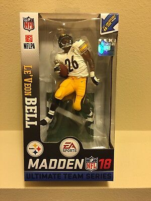 McFarlane NFL Madden 18 série 2 LeVeon le/'veon Bell STEELERS New LOOSE FIGURE