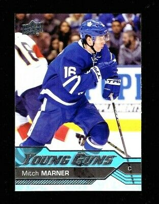 2016-17 Upper Deck Young Guns  468 Mitch Marner Rookie Card  Toronto Maple Leafs