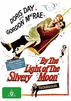 By The Light Of The Silvery Moon DVD - Doris Day - New Sealed - Region 4