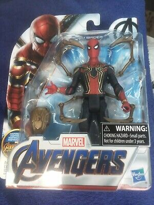 """New in Package Marvel Avengers Endgame 6"""" inch Iron Spider Hasbro Action Figure"""