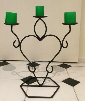 Magnificent Wrought Iron Candelabra Brass Candelabra With Candles