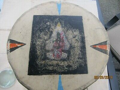 1920 - 1955 N.A. Indian Drum used by Boy Scouts of Am. at 8th World Jamboree