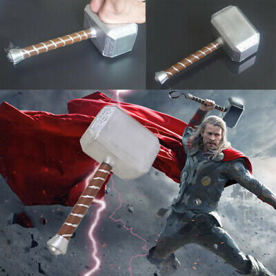 43CM The Avengers Thor Hammer 1:1 CATTOYS Replica Props Toys Mjolnir Xmas Gifts