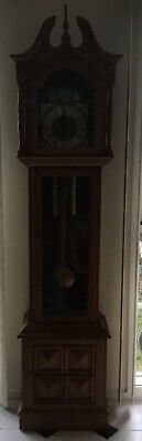 Reproduction Vintage Grandfather Clock
