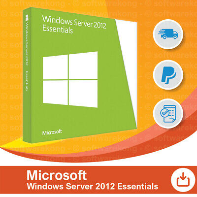 Microsoft Windows Server 2012 Essentials, Original, Retail.