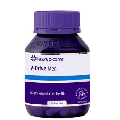 Blooms Health Products - Vdrive Men 60C - Muscle Mass And Drive