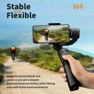 H4 3 Axis Handheld Anti-shake Gimbal Stabilizer for Mobile Phone Sports Cam CMT