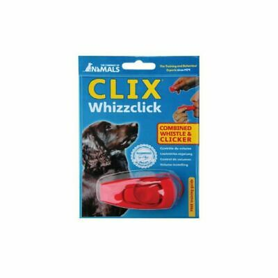 Dog Whistle & Clicker Clix Whizzclick Train Dog Training Training Guide Included