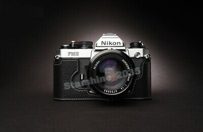 High Quality Retro New Leather Camera Case Cover Bag Suitable For Nikon FM2 Box