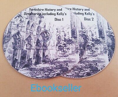 Yorkshire history and directories includes kellys in 130 pdf ebooks on 2 discs