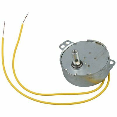 3X(Yellow Wired AC 220V 50/60Hz 3 Watt 5RPM Synchronous Motor V9D2