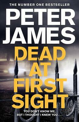 Dead at First Sight (Roy Grace) by Peter James New Hardcover Book