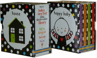 Baby's Very First Black and White Little L by Stella Baggott New Board book Book