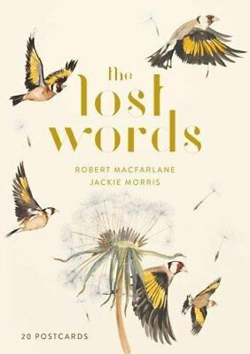 The Lost Words 20 Postcard Pack by Robert Macfarlane New Unbound Book