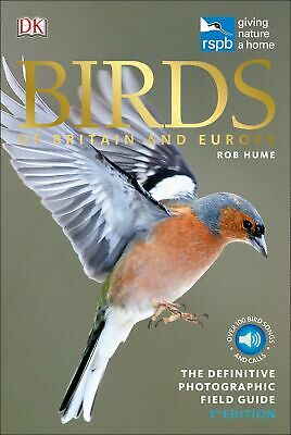 RSPB Birds of Britain and Europe (Rspb Guides) by Rob Hume New Flexibound Book