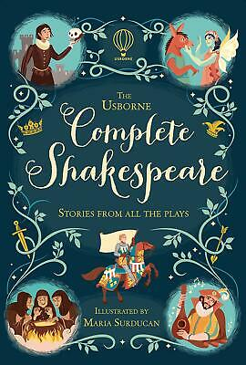 Complete Shakespeare (Illustrated Stories) by Anna Milbourne New Hardcover Book