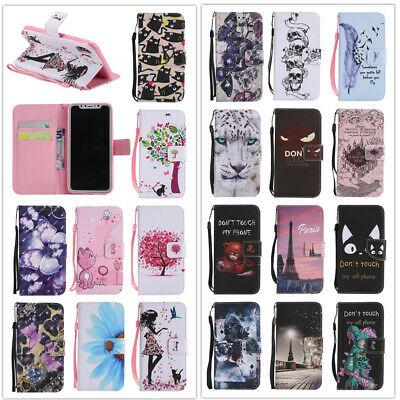For Samsung Galaxy A10 A20 A30 A40 A50 A70 Wallet Flip Leather Phone Case Cover